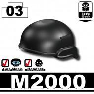 Minifigcat M2000 HELMET - BLACK