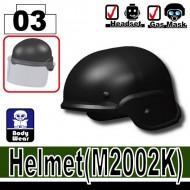 Minifigcat M2002K Helmet - BLACK