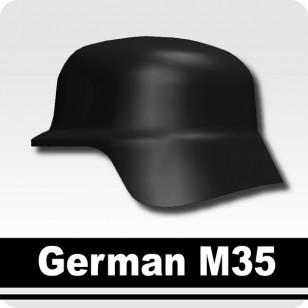 Minifigcat M35 German WWII Helmet - BLACK