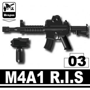 Minifigcat M4A1 RIS - BLACK