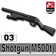Minifigcat M500T SHOTGUN - BLACK