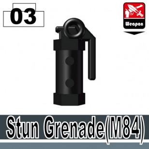 Minifigcat M84 STUN GRENADE - BLACK