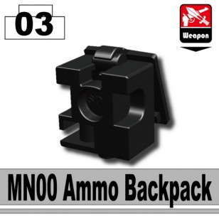 Minifigcat MN00 Ammo Backpack - BLACK