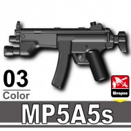 Minifigcat MP5A5S - BLACK