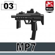 Minifigcat MP7 - BLACK