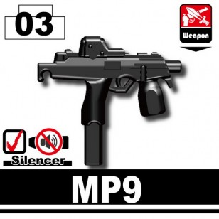 Minifigcat MP9 - BLACK