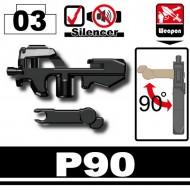 Minifigcat P90 - BLACK