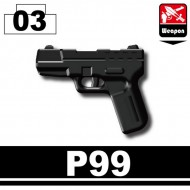 Minifigcat P99 - BLACK