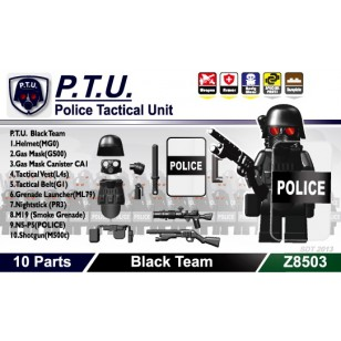 Minifigcat PTU PACK New - BLACK