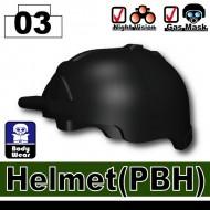 Minifigcat PBH Helmet - BLACK