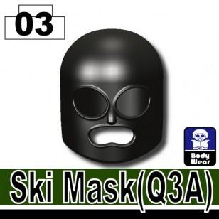 Minifigcat Q3A Ski Mask - BLACK