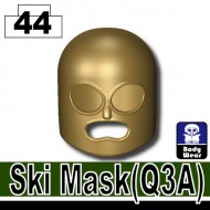 Minifigcat Q3A Ski Mask - DARK TAN