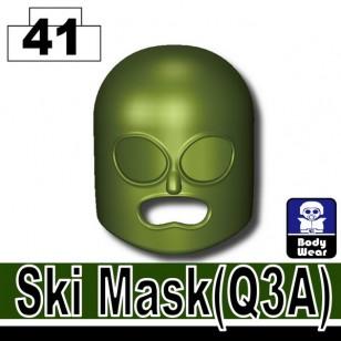 Minifigcat Q3A Ski Mask - TANK GREEN