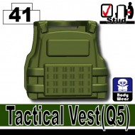 Minifigcat Q5 Tactical Vest - TANK GREEN