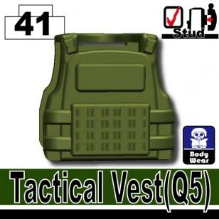 Minifigcat Q5 Tactical Vest - TANK GREEN