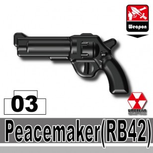 Minifigcat RB42 PEACEMAKER - BLACK