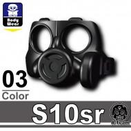 Minifigcat S10SR MASK - BLACK