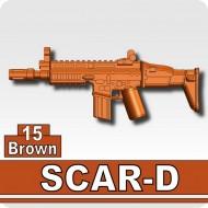 Minifigcat SCAR - BROWN