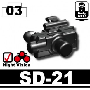 Minifigcat SD-21 NIGHTVISION - BLACK