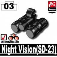 Minifigcat SD-23 NIGHTVISION - BLACK