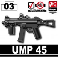 Minifigcat UMP 45 - BLACK