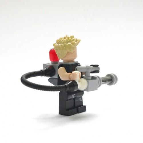 Как сделать из лего оружие для человечков миниган