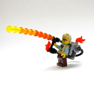 LEGO MOC flamethrower