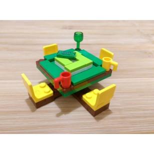 LEGO MOC - Mahjong Table Set 麻雀台 (Minifigure not included)