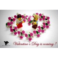 LEGO Flower Heart Set