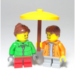 LEGO MOC - Yellow Umbrella