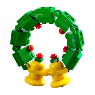 LEGO 30028 Christmas Wreath (Retired. Recreate)