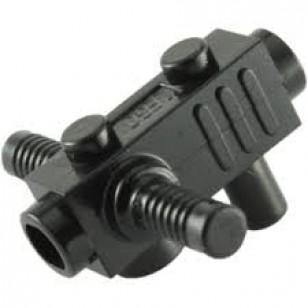 LEGO Utensils - Black Minifig, Utensil Tool Chainsaw Body