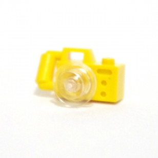 LEGO Yellow Camera, with Clear Lens - USED