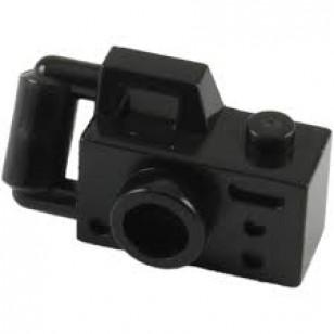 LEGO Utensils - Black Minifig, Utensil Camera Handheld Style - Type 2