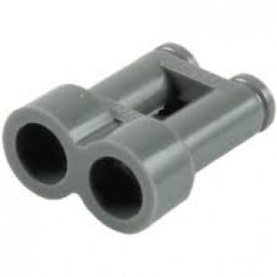 LEGO Utensils - Dark Bluish Gray Minifig, Utensil Binoculars Town