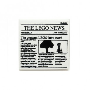 Newspaper 'THE LEGO NEWS' Pattern