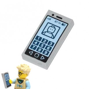 Minifigure Cell Phone