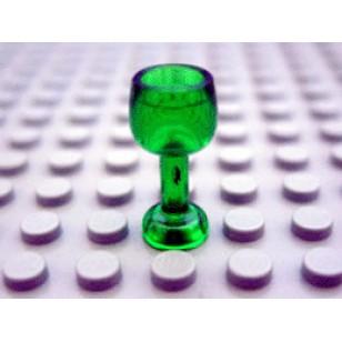 LEGO Utensils - Trans-Green Minifig, Utensil Goblet Large
