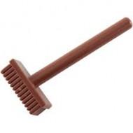 LEGO Utensils - Reddish Brown Minifig, Utensil Pushbroom