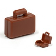 Reddish Brown Briefcase