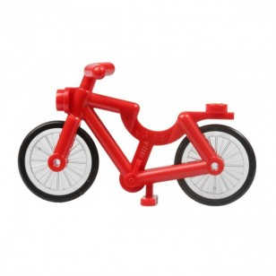 LEGO red bicycle