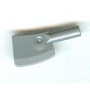 LEGO Utensils - Flat Silver Minifig, Utensil Cleaver
