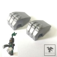 LEGO Minifigure Weapons - a pair of IRON FIST 鐵拳一對