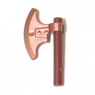 LEGO Copper Axe , Brown Bar