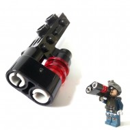 LEGO Minifigure Weapons - Double Barrel Space Gun