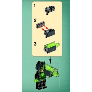 LEGO Minifigure Weapons - Ultra Agent Terebyte Blaster Weapon